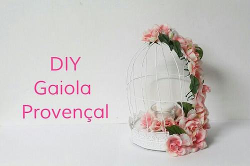 DIY - Gaiola Provençal