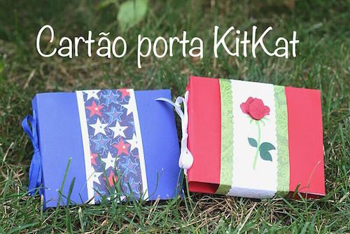 DIY - Cartão porta KitKat