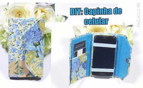 DIY - Capinha para Celular