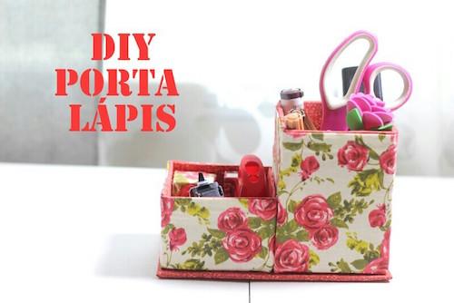 DIY - Porta Lápis